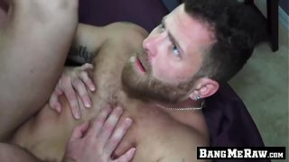 Bareback fan wants a thick raw dick up his hairy ass hole