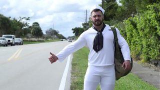 Bruce Beckham Fucks Derek Bolt, The Hawt Hitch hiking Sailor on Xvideos