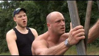 horny german gays having hardcore outdoor fuck
