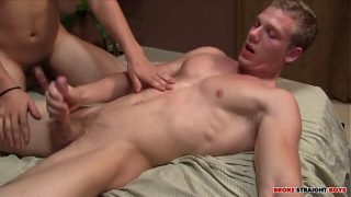 Johnny's  first time getting fucked by Carson Hawk hardcore gay sex