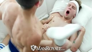 ManRoyale After tennis tight ass fuck with Timothy Drake and Beau Taylor