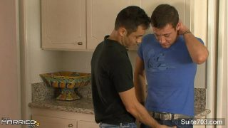 Married guy Emilio Sands gets banged by a gay