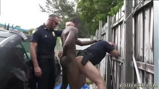 Naked black cop gay xxx Serial Tagger gets caught in the Act